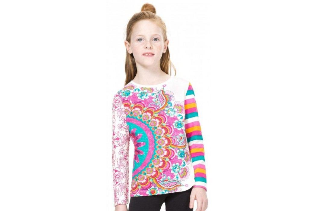 Desigual T-shirt dziewczęcy 104 wielokolorowy Koszulki