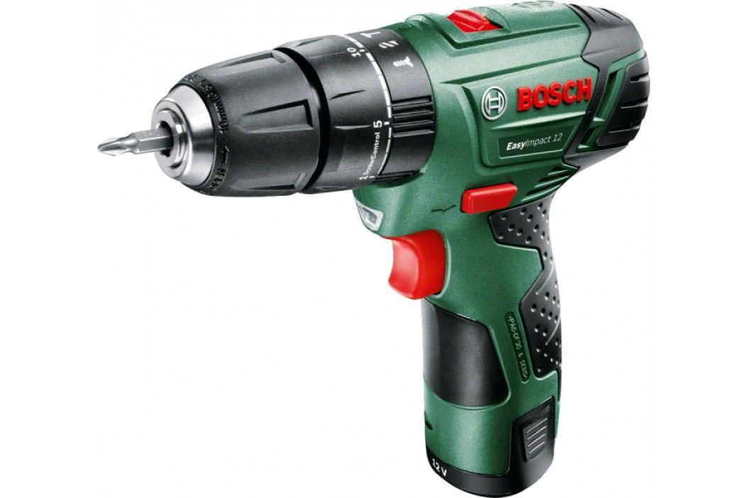 Bosch EasyImpact 12 (2 x aku 2,5 Ah) 060398390E Wiertarko-wkrętarki akumulatorowe