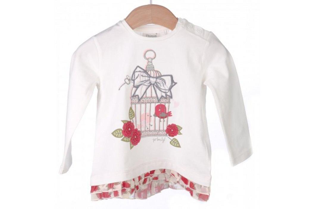 Primigi T-shirt dziewczęcy 74 kremowy Koszulki