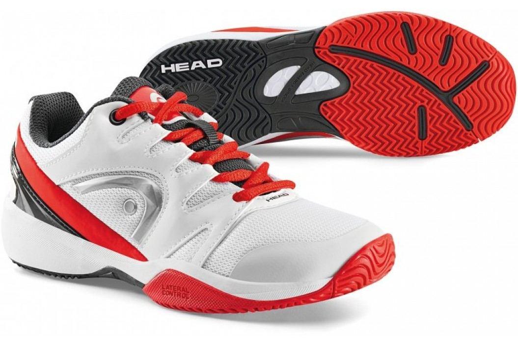 Head Nitro Junior White/Red 31,5 Obuwie biegowe, fitness