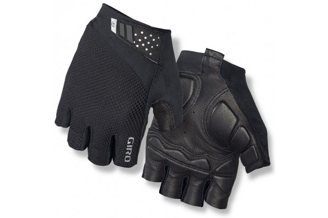 Giro Monaco II Black M Krótkie rękawiczki