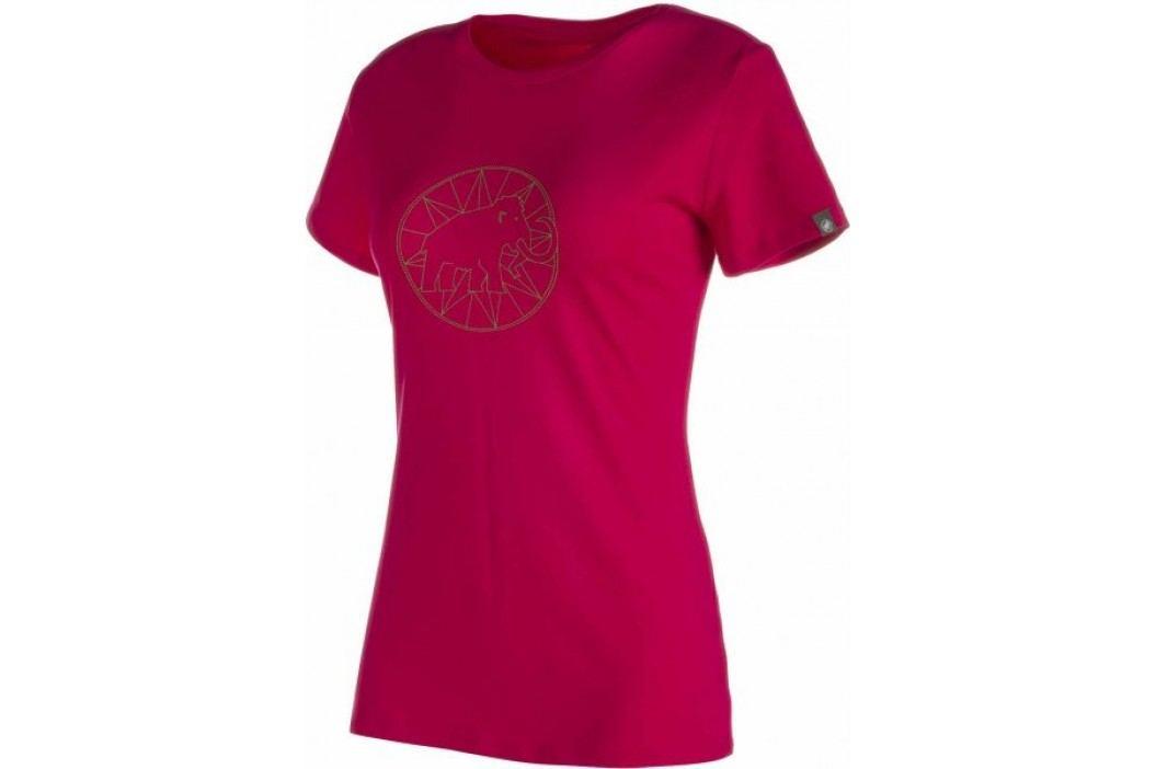 Mammut Logo T-Shirt W magenta S Koszulki miejskie, rekreacyjne