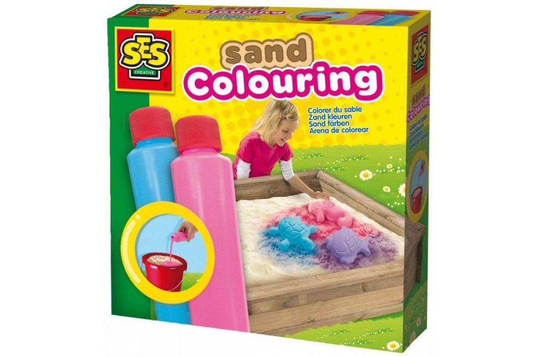 SES Farby do piasku różowa, niebieska Zrób to sam