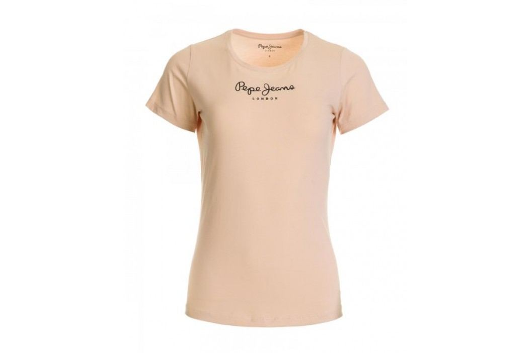 Pepe Jeans T-shirt damski New Virginia XS łososiowy Koszulki
