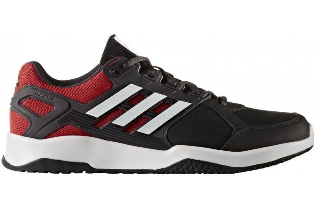 Adidas Buty Duramo 8 TRainer M Core Black/Ftwr White/Scarlet 44 2/3 Obuwie biegowe, fitness