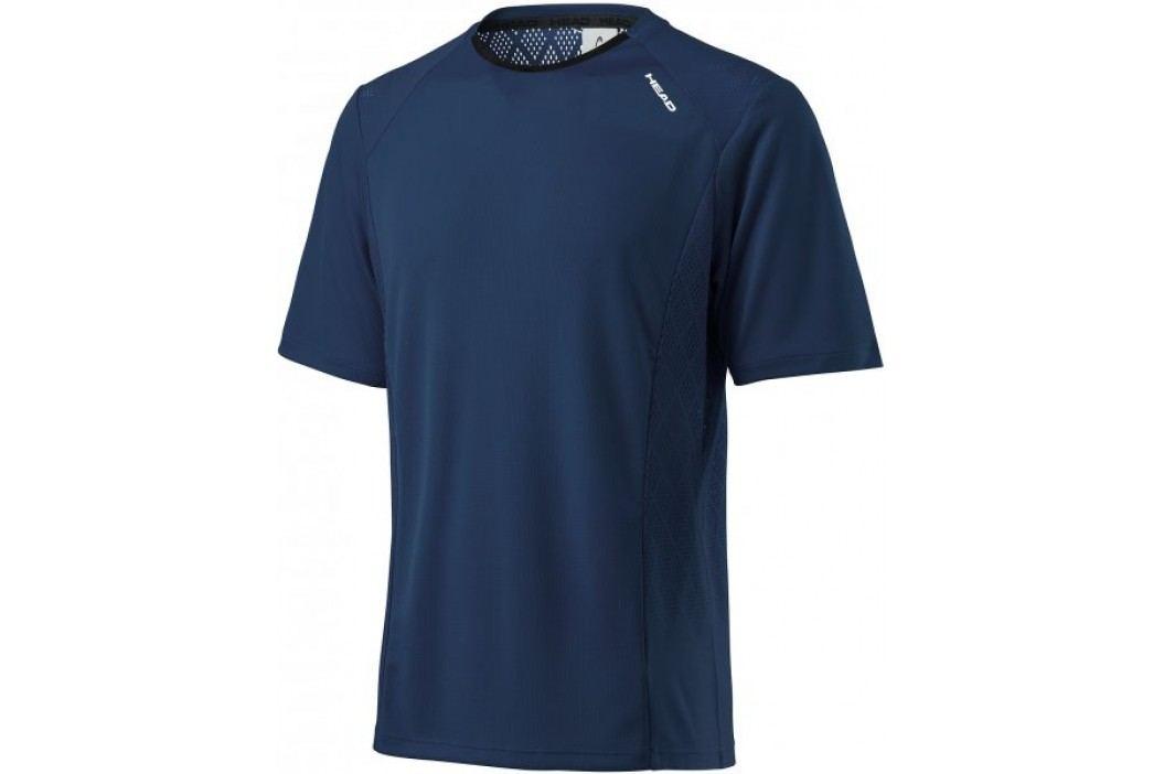 Head koszulka sportowa Performance Crew Shirt M Navy M Koszulki biegowe, fitness