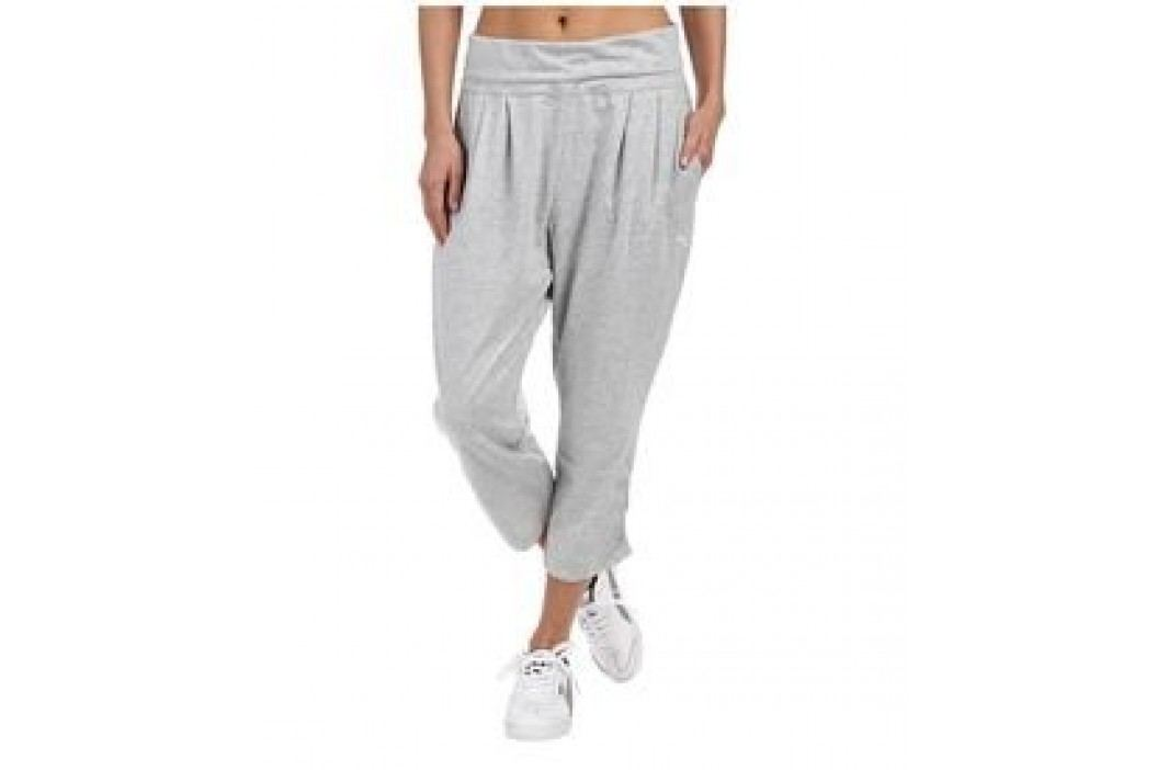 Puma spodnie sportowe Style 3/4 Drapy Pants W Light Gray Heather S Spodenki treningowe