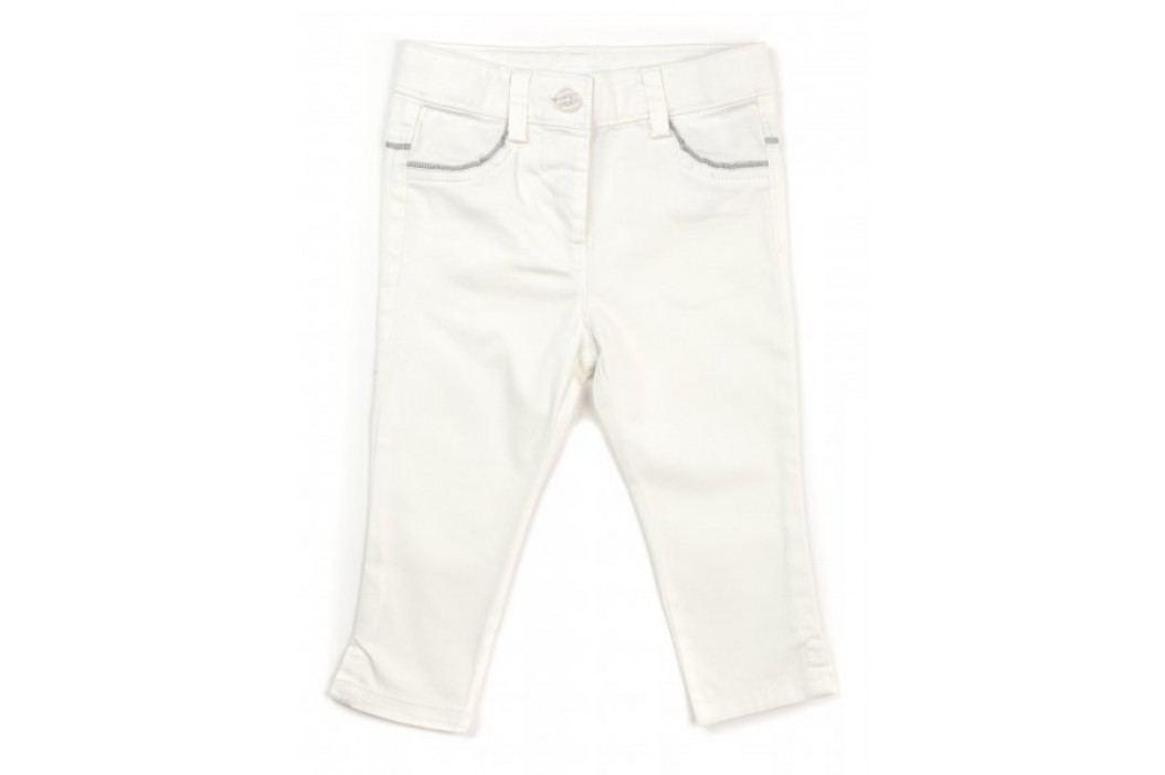 Primigi spodnie dziewczęce 74 kremowy Jeansy, spodnie