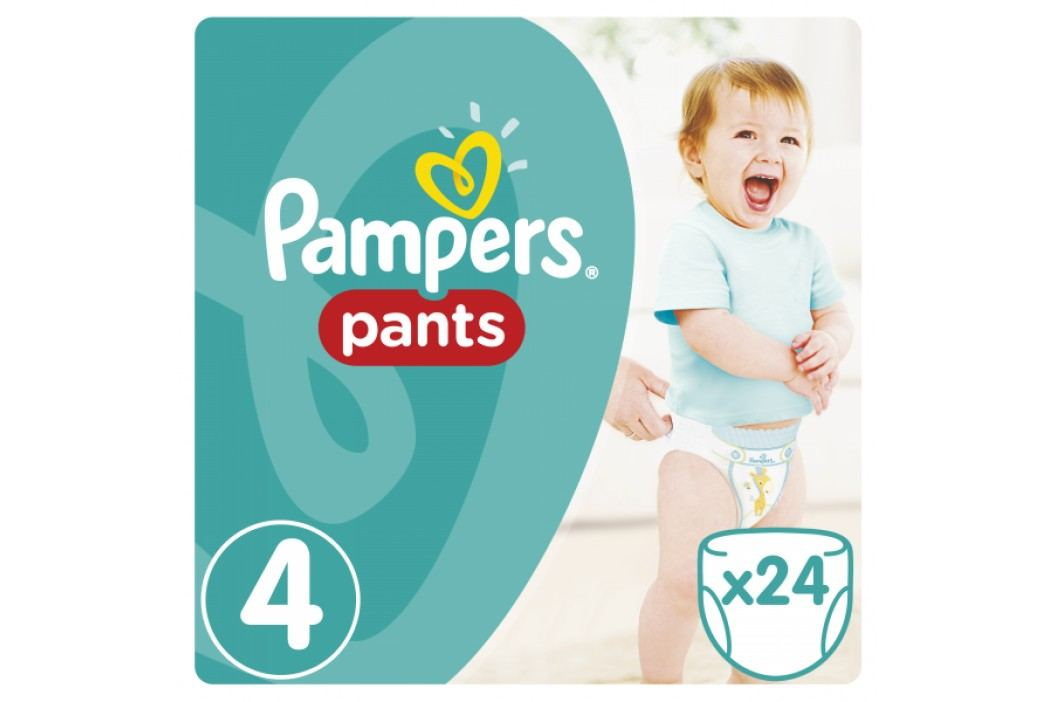 Pampers Pieluchomajtki Active Baby Pants Maxi (24 szt.) Pampers