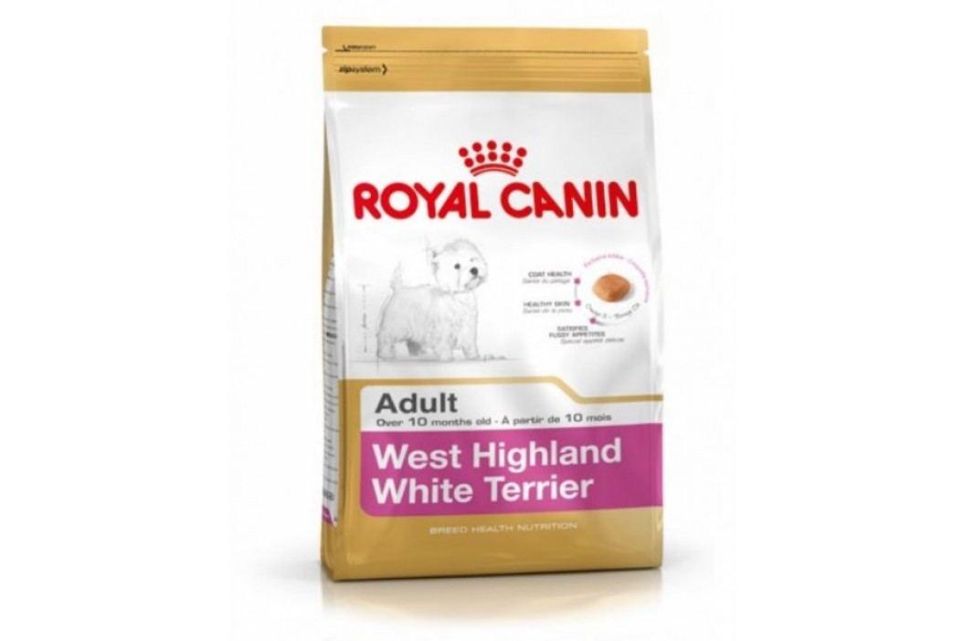 Royal Canin sucha karma dla psa West Highland White Terrier 21- 3 kg Karma sucha