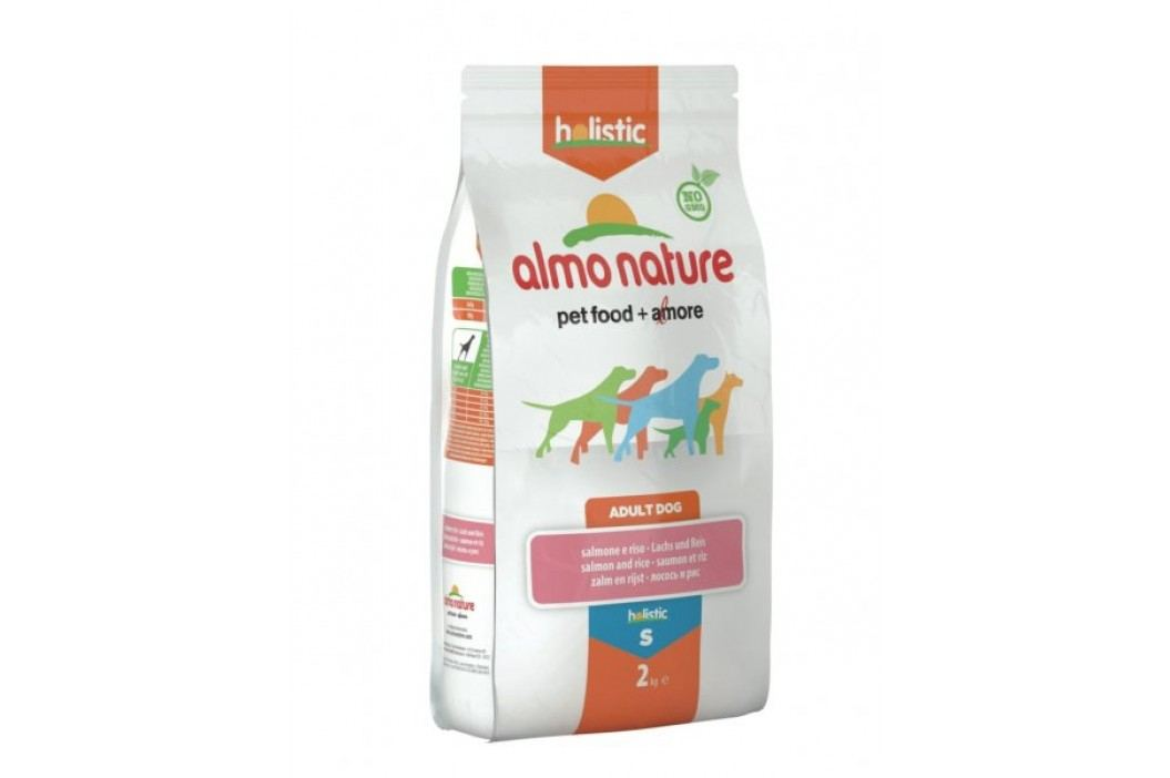 Almo Nature Small Adult, łosoś z ryżem, 2 kg Karma sucha