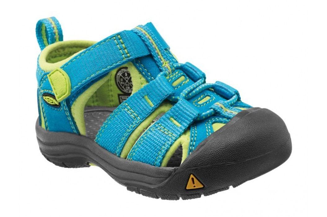 KEEN Sandały Newport H2 Infant Haw Blue/ Green Glow 6 Sandały, Crocsy