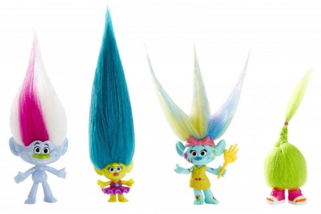HASBRO Trolls Town Multipack – Wild hair pack Superbohaterowie