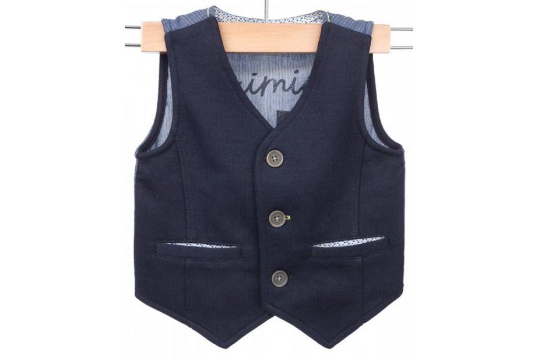 Primigi kamizelka chłopięca 74 ciemnoniebieski Swetry