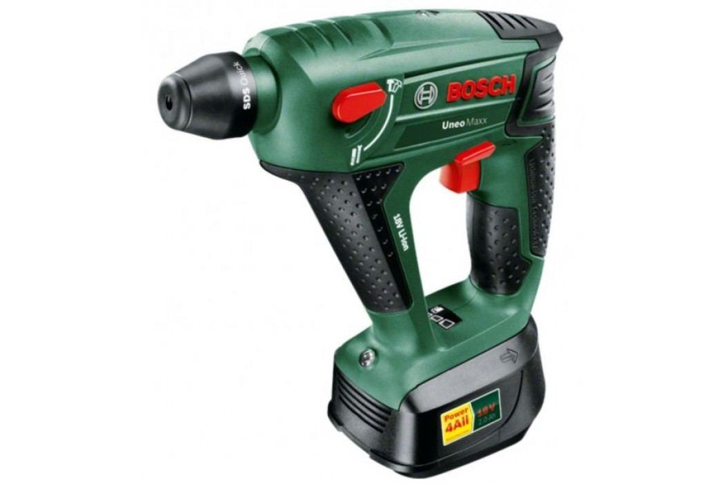 Bosch Uneo Maxx 18 Li (2 x aku 2,5 Ah) + uchwyt wiertarski 060395230F Młoty udarowe
