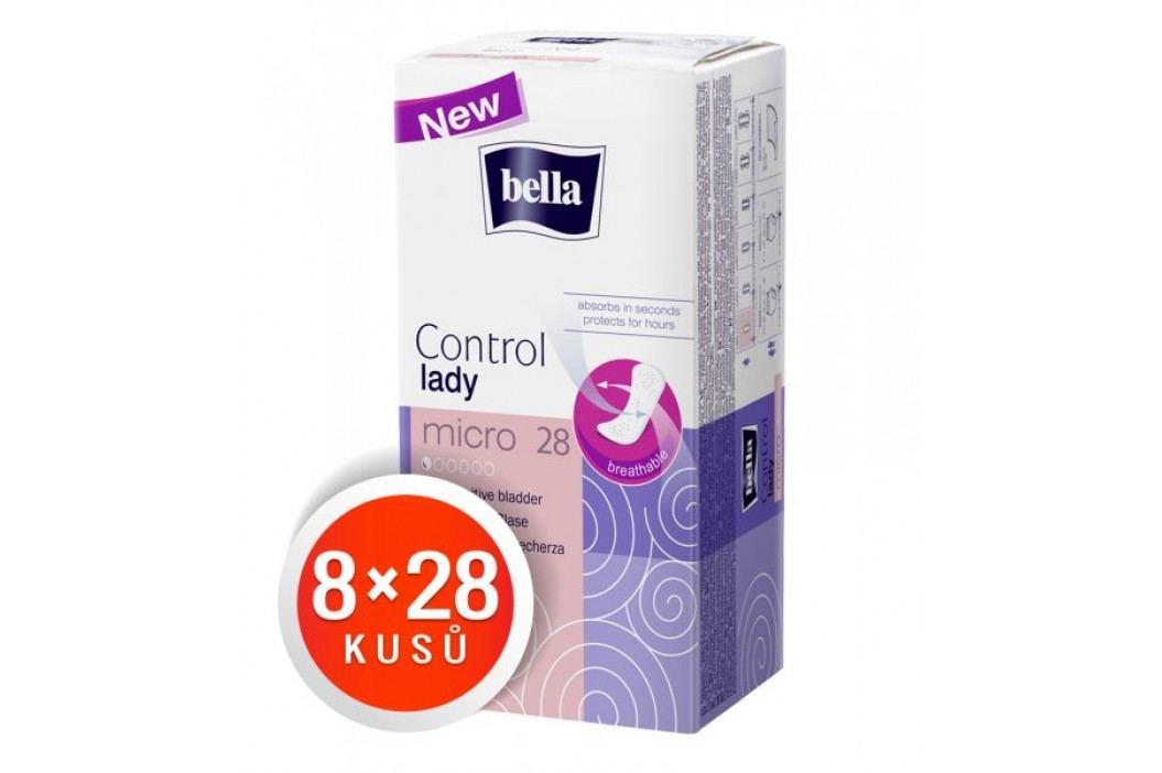Bella wkładki Control Lady Micro 28 x 8 szt Higiena dla dorosłych