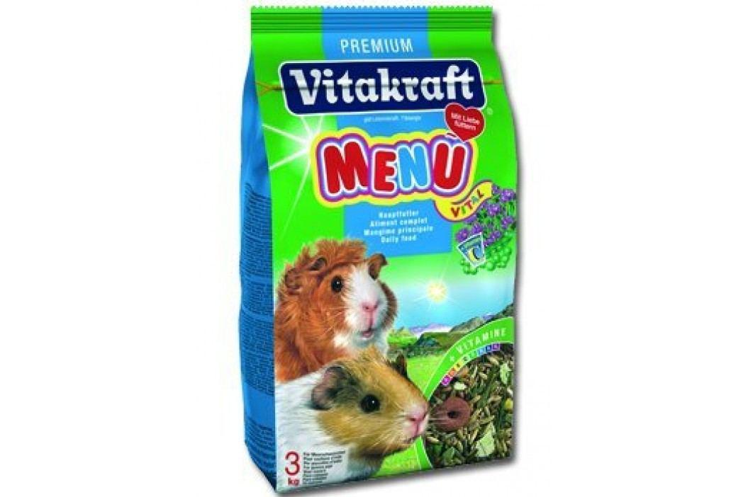 Vitakraft karma dla świnki morskiej Menu Vital 3kg Pokarm