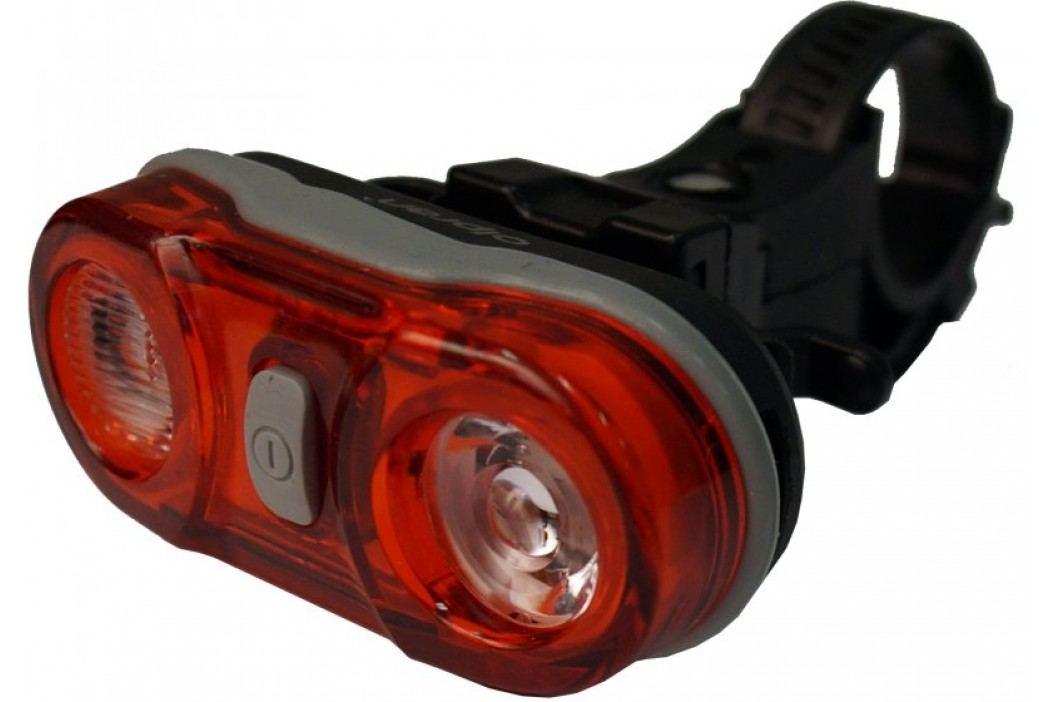 Olpran lampka tylna 2 LED black Lampki rowerowe