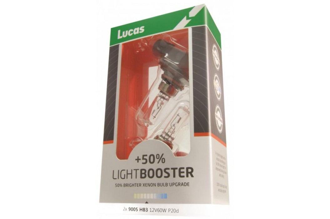 Lucas żarówki samochodowe LightBooster H7 12V 55W +50% - 2 szrtuki Żarówki