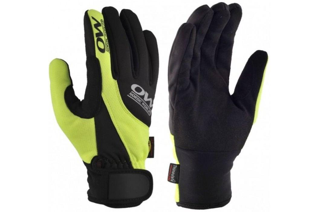 One Way rękawiczki na narty biegowe Tobuk 6 Black-Yellow 4 Rękawiczki do narciarstwa biegowego