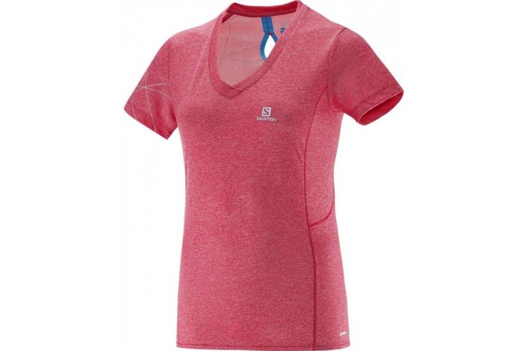 Salomon koszulka z krótkim rękawem Park Ss Tee W Lotus Pink M Koszulki biegowe, fitness