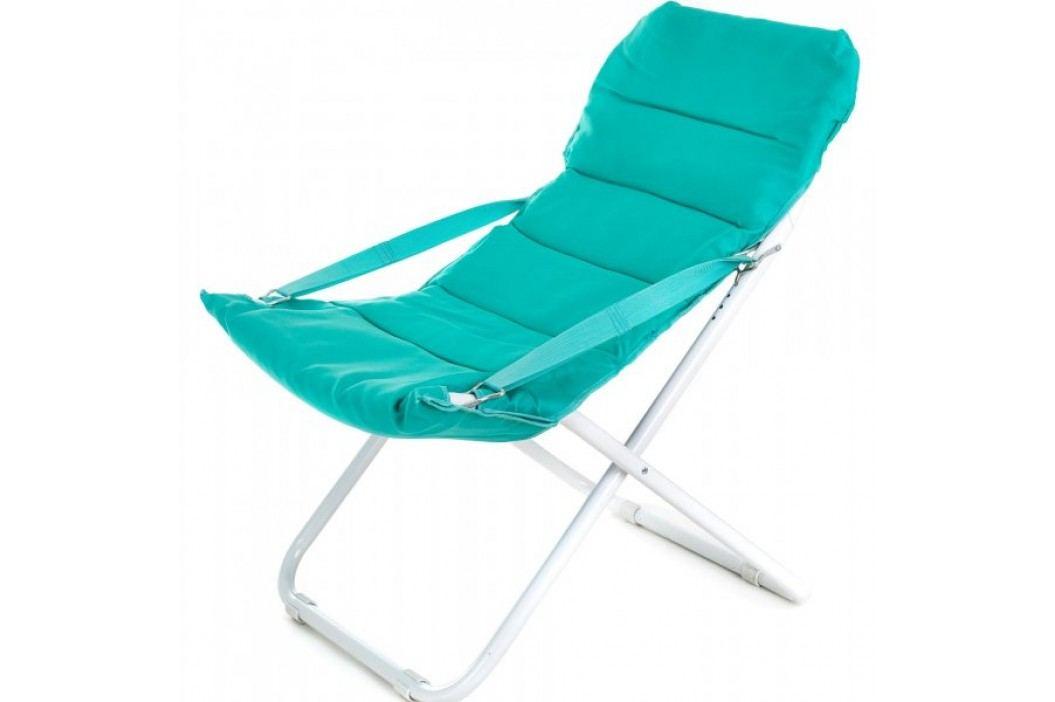 Happy Green fotel składany Varadero, niebieski Krzesła