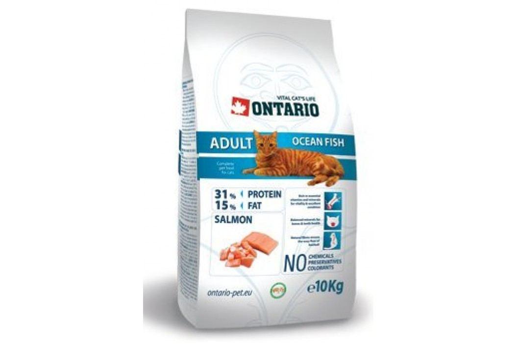 Ontario sucha karma dla kota Adult Ocean Fish - 10 kg Karma sucha