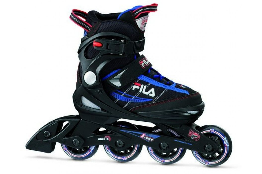 FILA rolki J-One Black/Blue/Red S32 Łyżworolki