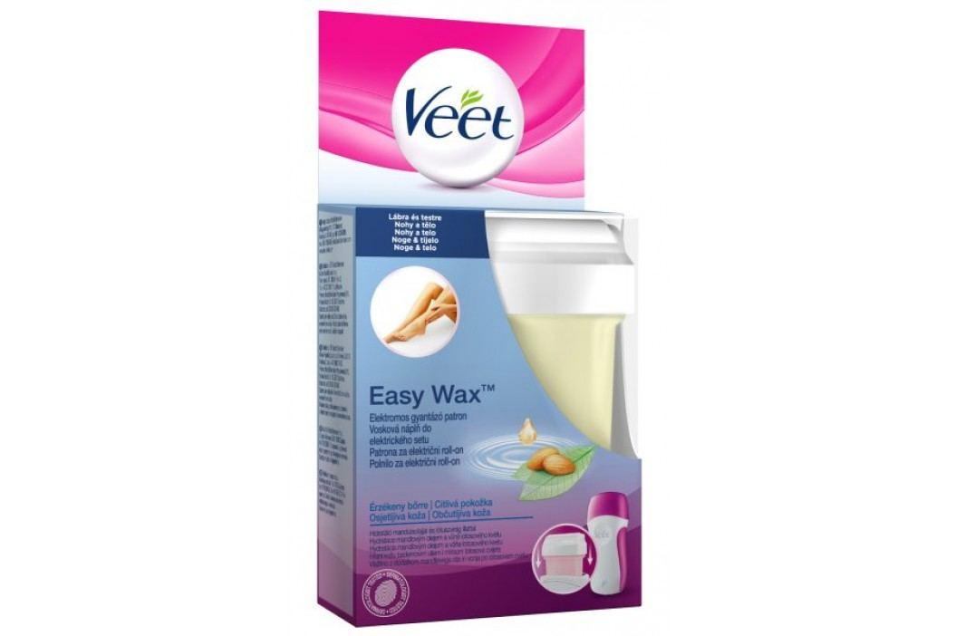 Veet EasyWax Wkład wosku do golenia do wrażliwej skóry, 50 ml Kremy i woski