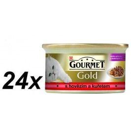 Gourmet Gold mokra karma dla kota - 24 x 85 g