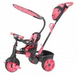 Little Tikes Trójkołowy rowerek 4w1 Deluxe, różowy/szary