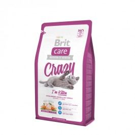 Brit sucha karma dla kota Care Cat Crazy I´m Kitten - 2 kg