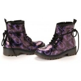 Geox buty za kostkę dziewczęce 31 fioletowy