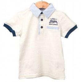 Primigi koszulka polo chłopięca 98 kremowy