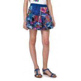 Desigual spódnica dziewczęca Antius 116 niebieski