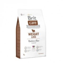 Brit sucha karma dla psa Care Weight Loss Rabbit & Rice 3kg