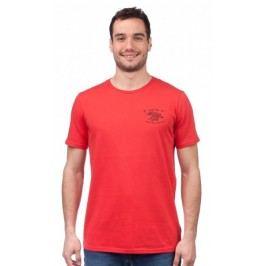GLOBE T-shirt męski Wokstar S czerwony