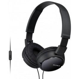 SONY słuchawki MDR-ZX110APB Czarny