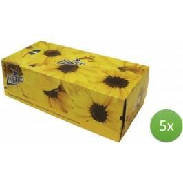 LINTEO satin chusteczki higieniczne – 5 x 150