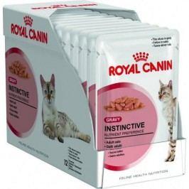 Royal Canin saszetki dla kota instinctive 12 w sosie - 12 x 85 g