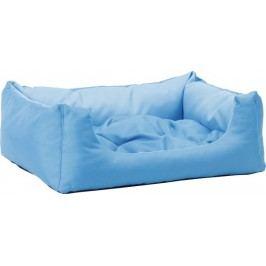 Argi prostokątne legowisko z poduszką, niebieskie, Srozm.