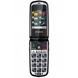 Emporia telefon komórkowy GLAM V34, czarny