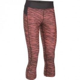 Under Armour Spodnie HG Ar Pr Capri Lon Or Charcoal Met Sil