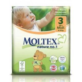 MOLTEX Pieluchy Midi 4-9 kg (34 szt.)
