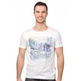 Mustang T-shirt męski XL biały