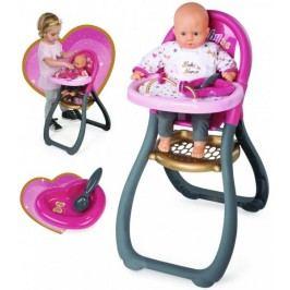 Smoby Baby Nurse Krzesełko do karmienia lalek