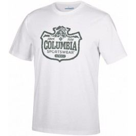 COLUMBIA Csc Mountain Shield Tee White S