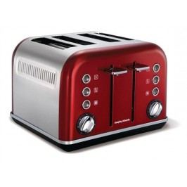 Morphy Richards Limited Accents Red 4S