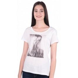 Mustang T-shirt damski XS biały