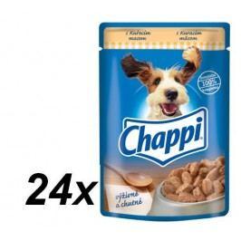 Chappi saszetki dla psa z kurczakiem- 24 x 100g
